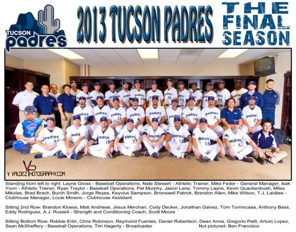 Tucson Padres Final Season