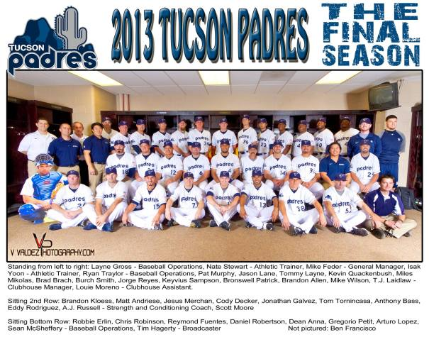 Tucson Padres Final Season