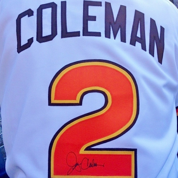 Coleman jersey signed