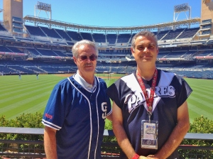 Jose & Wayne at Petco Park, 2012