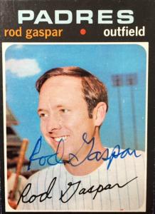 Rod Gaspar, Padres