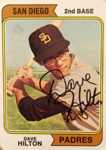 Dave Hilton, Padres