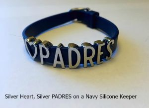 KEEP PADw - heart padres blu slv