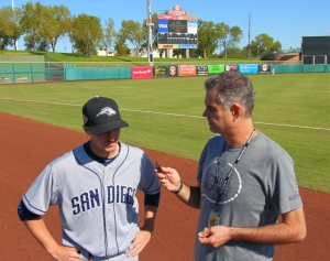 Padres Pitcher, Eric Yardley interviewed by Wayne McBrayer, Padres360