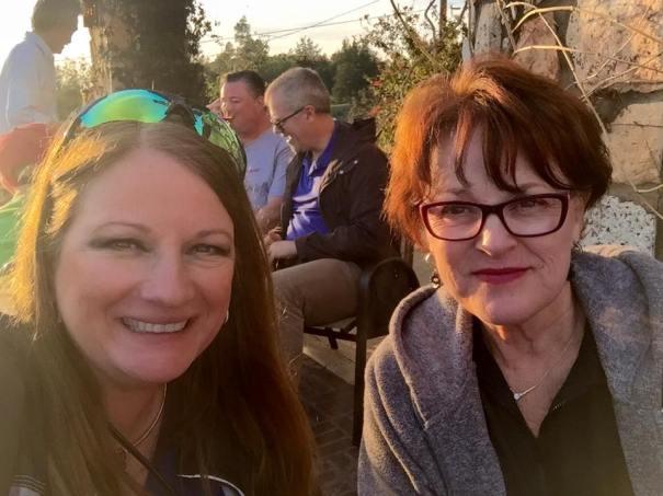Rebecca Herman and Susan Locklear