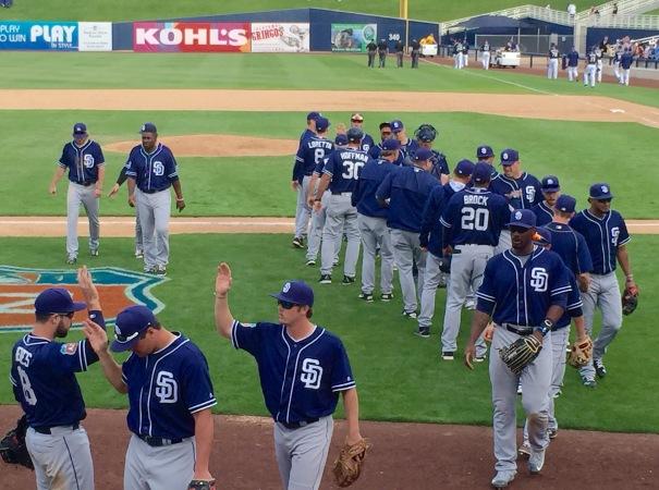 Padres Win!