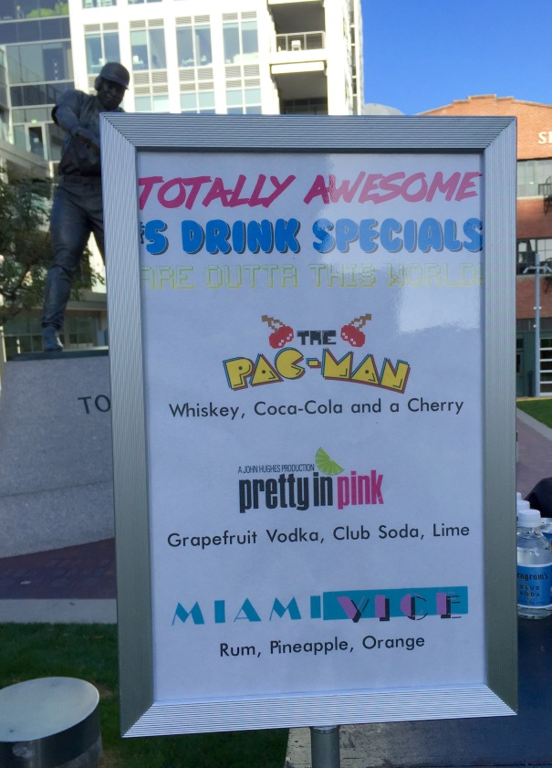 Party in The Park - Drink Specials