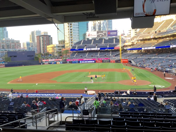 Petco Park Omni Club - View from rail-side table