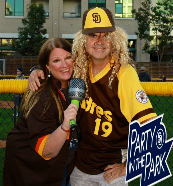 Party in The Park - Padres made this one an 80s Theme!