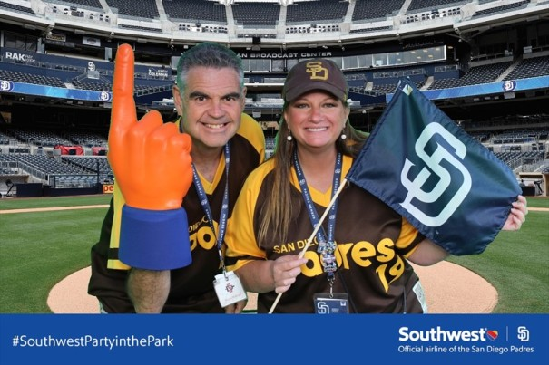 #SouthwestPartyInThePark at Petco Park April 2016