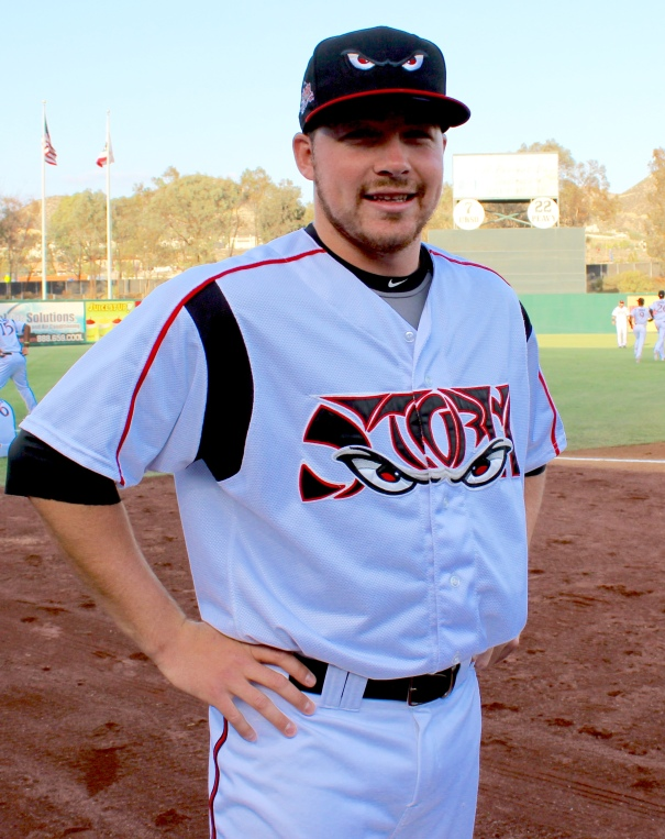 Cody Blueberg Lake Elsinore Storm (Photo by Rebecca Herman)