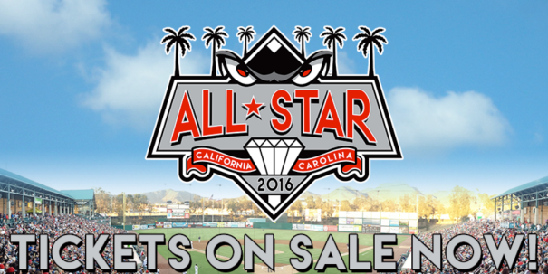 All-Star Game: California League vs Carolina League on 6/21/2016