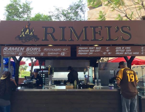 Rimels at Petco Park
